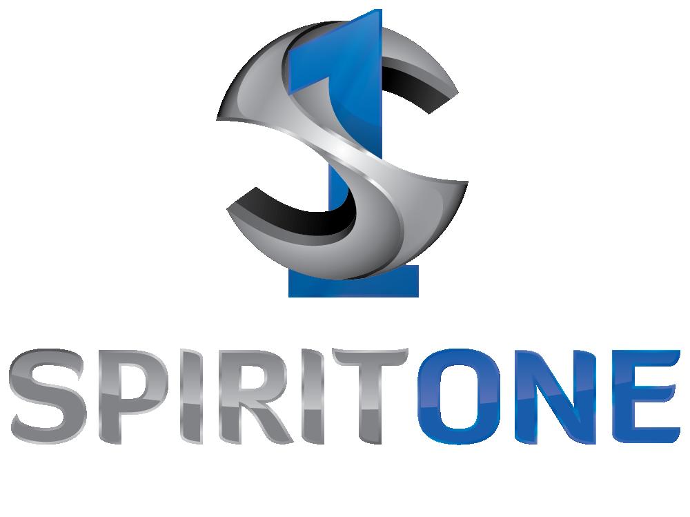 SpiritOne-Logo Original-slogan white(1000px)